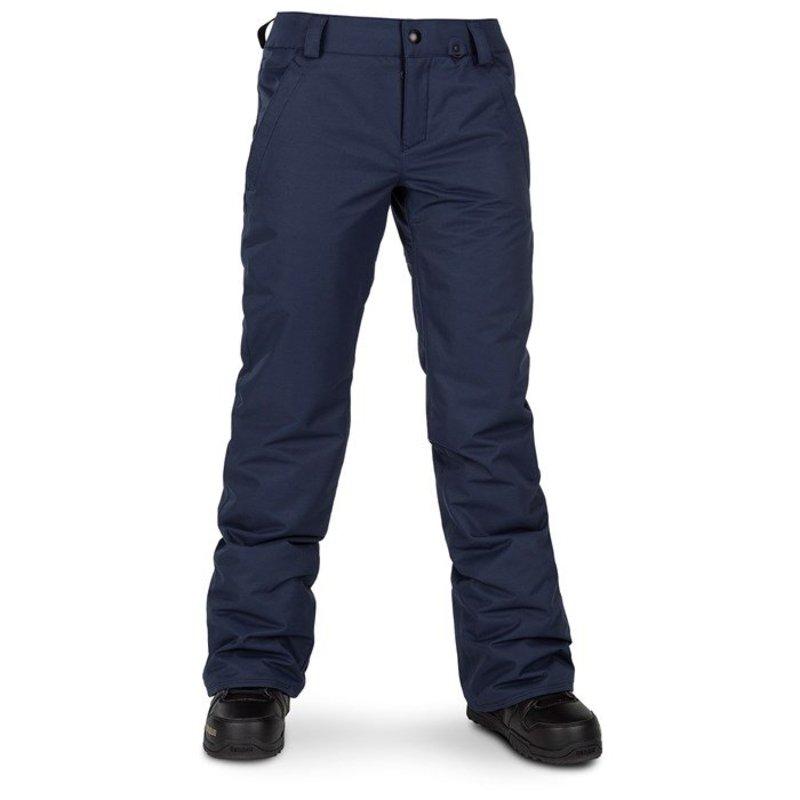 ボルコム レディース カジュアルパンツ ボトムス Volcom Frochickie Insulated Pants - Women's Navy