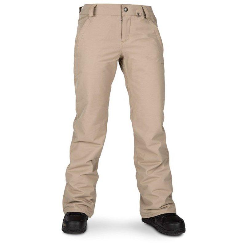 ボルコム レディース カジュアルパンツ ボトムス Volcom Frochickie Insulated Pants - Women's Sand Brown