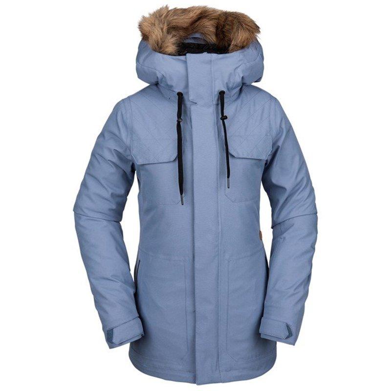 ボルコム レディース ジャケット・ブルゾン アウター Volcom Shadow Insulated Jacket - Women's Washed Blue