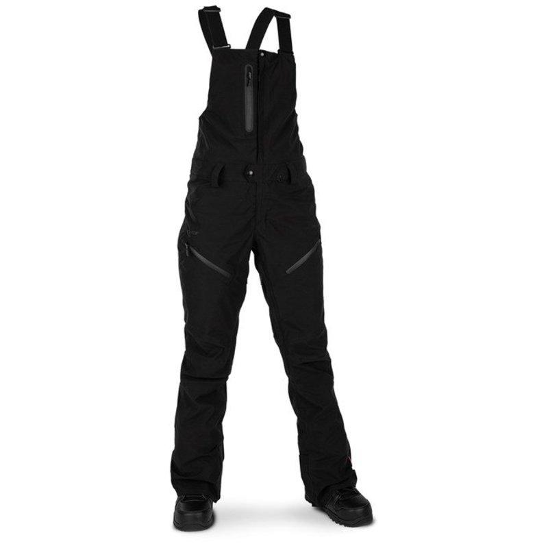 ボルコム レディース カジュアルパンツ ボトムス Volcom Elm GORE-TEX Bib Overalls - Women's Black