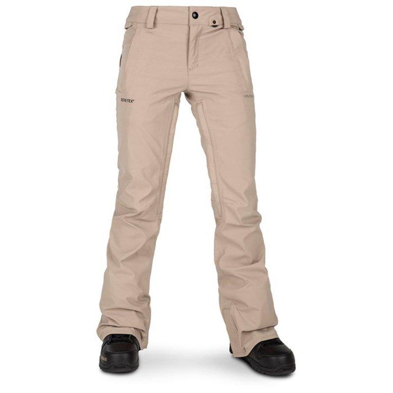ボルコム レディース カジュアルパンツ ボトムス Volcom Flor Stretch GORE-TEX Pants - Women's Sand Brown
