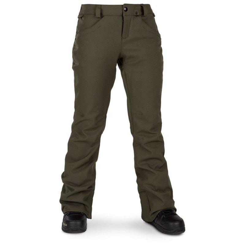 ボルコム レディース カジュアルパンツ ボトムス Volcom Grail 3D Stretch Pants - Women's Forest