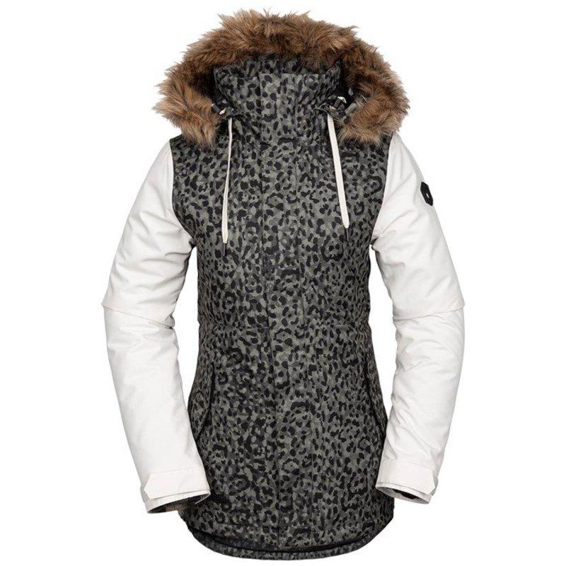 ボルコム レディース ジャケット・ブルゾン アウター Volcom Fawn Insulated Jacket - Women's Leopard