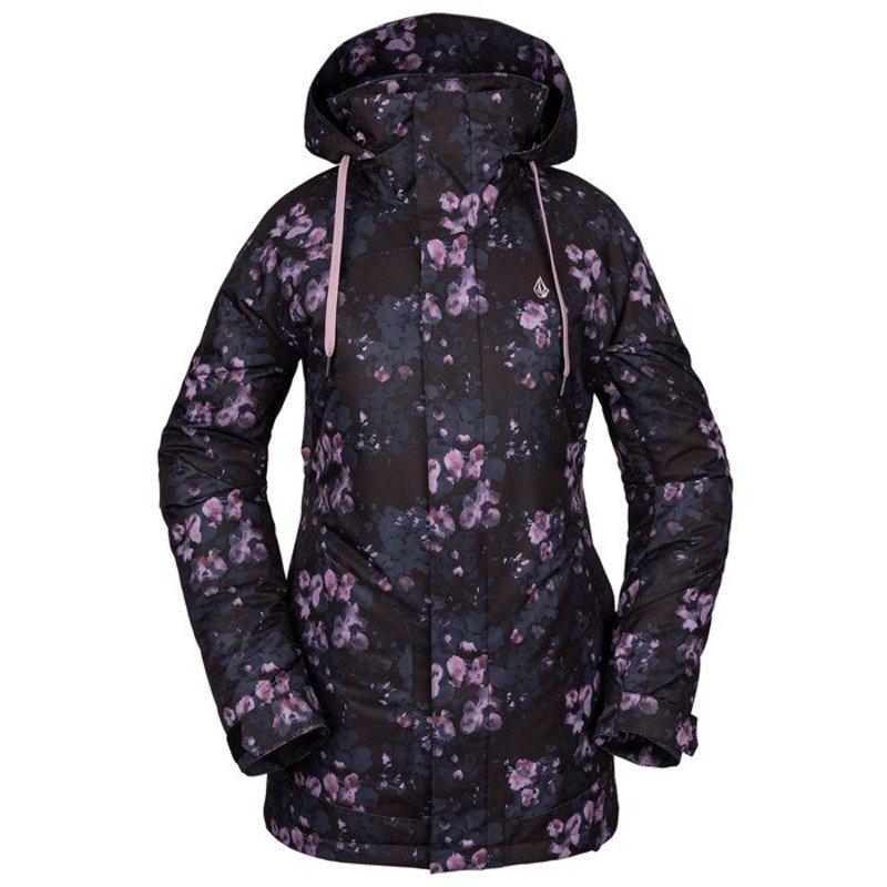 ボルコム レディース ジャケット・ブルゾン アウター Volcom Westland Insulated Jacket - Women's Black Floral Print