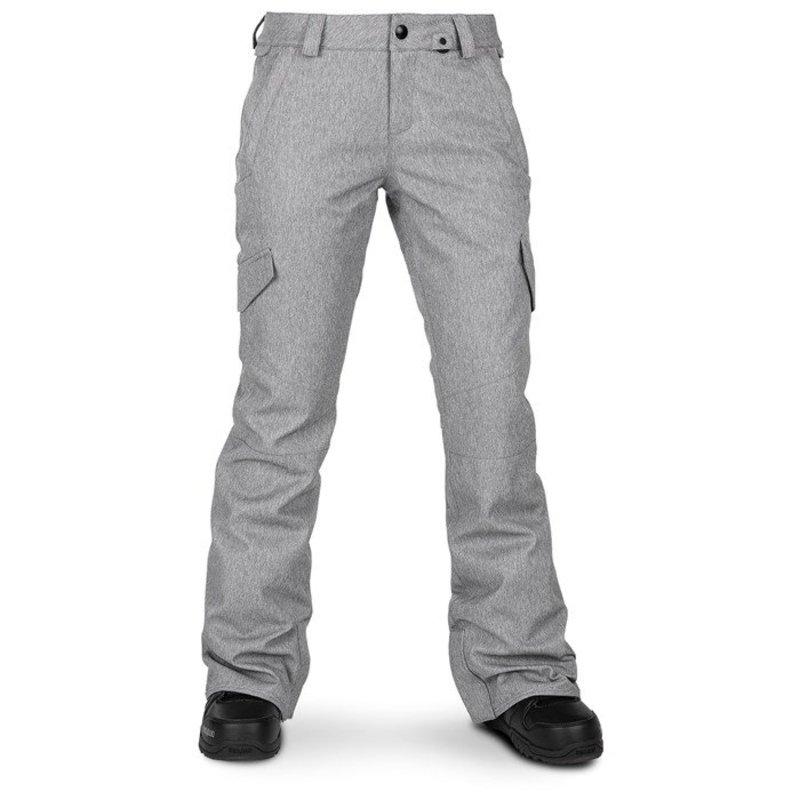 ボルコム レディース カジュアルパンツ ボトムス Volcom Bridger Insulated Pants - Women's Heather Grey