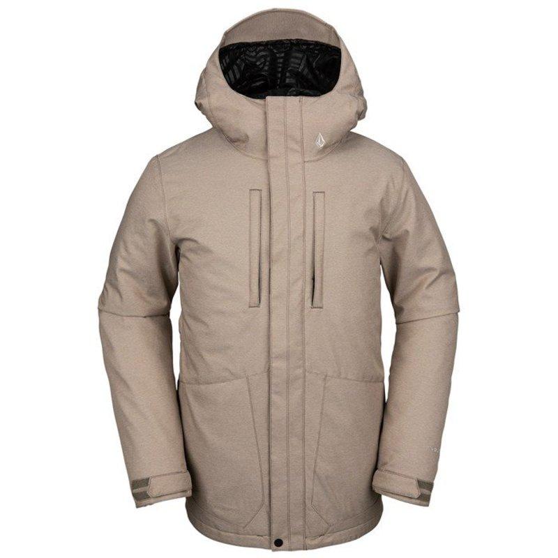 ボルコム メンズ ジャケット・ブルゾン アウター Volcom Slyly Insulated Jacket Teak
