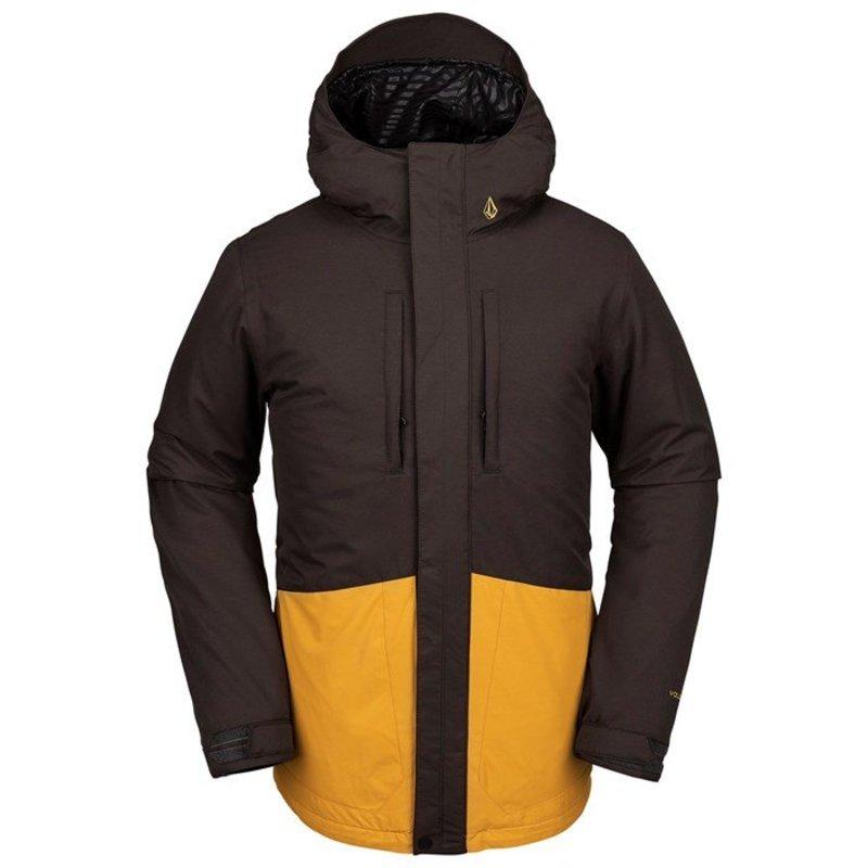 ボルコム メンズ ジャケット・ブルゾン アウター Volcom Slyly Insulated Jacket Vintage Black