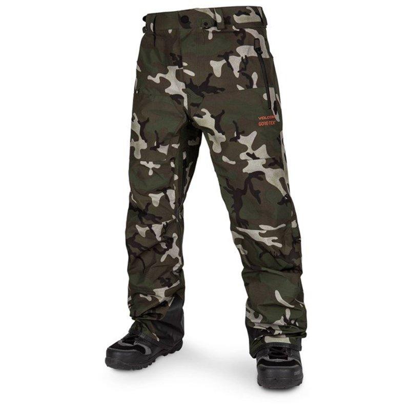 ボルコム メンズ カジュアルパンツ ボトムス Volcom Guide GORE-TEX Pants GI Camo