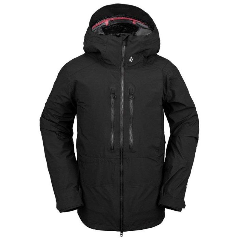 ボルコム メンズ ジャケット・ブルゾン アウター Volcom Guide GORE-TEX Jacket Black