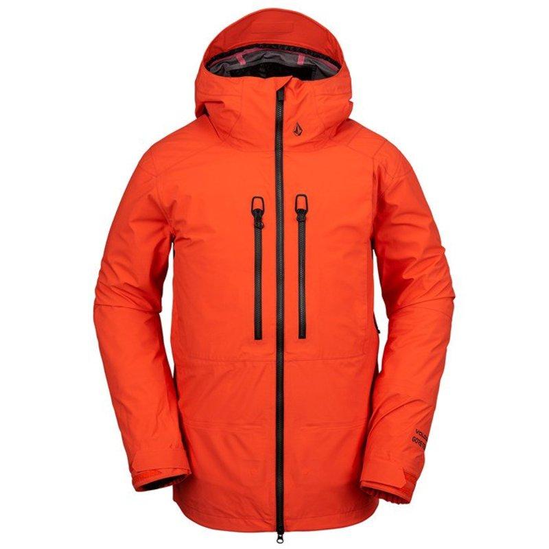 ボルコム メンズ ジャケット・ブルゾン アウター Volcom Guide GORE-TEX Jacket Orange