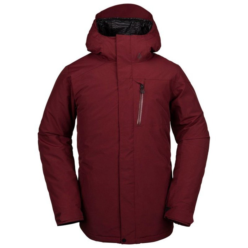 ボルコム メンズ ジャケット・ブルゾン アウター Volcom L Insulated GORE-TEX Jacket Burnt Red