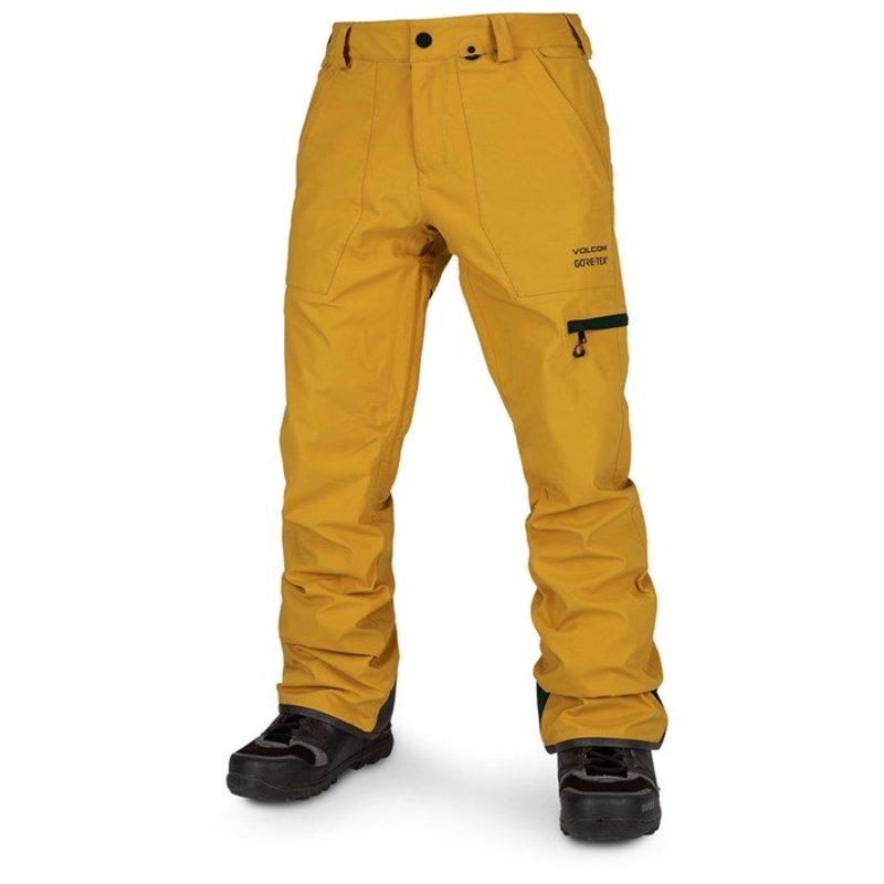 ボルコム メンズ カジュアルパンツ ボトムス Volcom Stretch GORE-TEX Pants Resin Gold