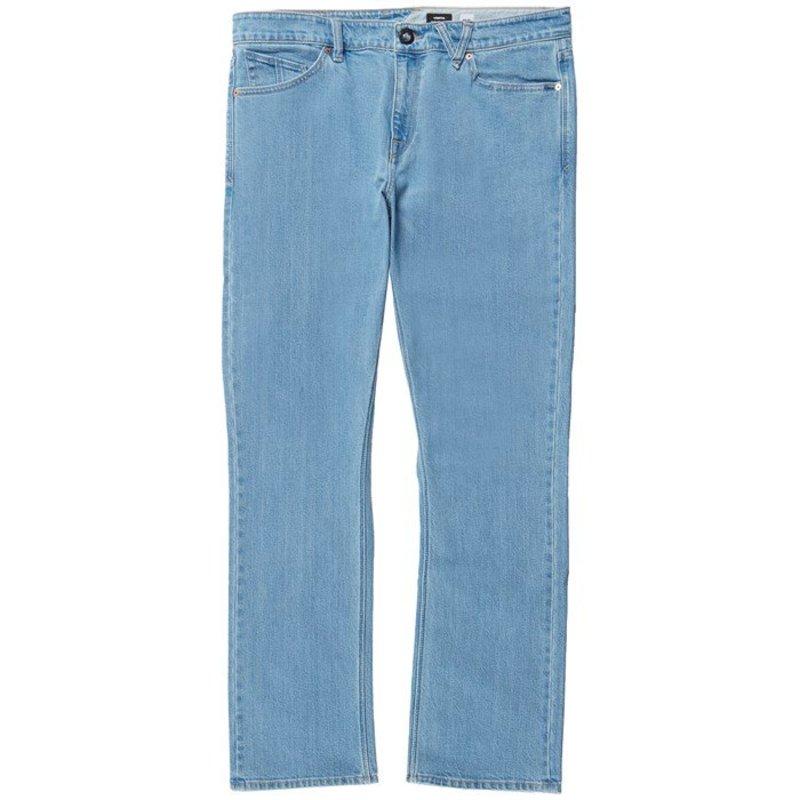 ボルコム メンズ カジュアルパンツ ボトムス Volcom Vorta Jeans Thrifter Blue Light