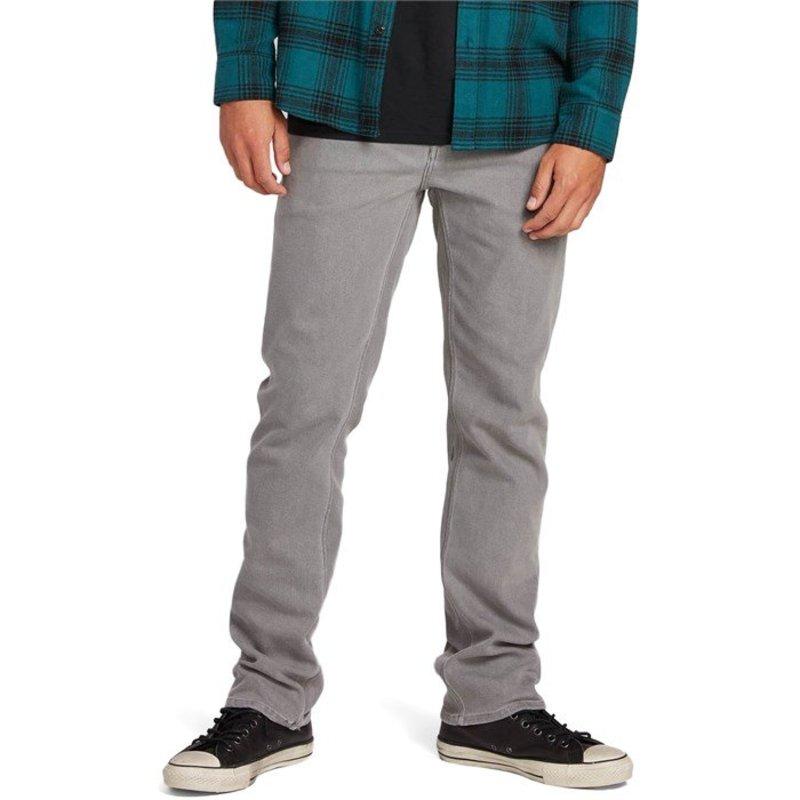 ボルコム メンズ カジュアルパンツ ボトムス Volcom Solver Jeans Daze Grey