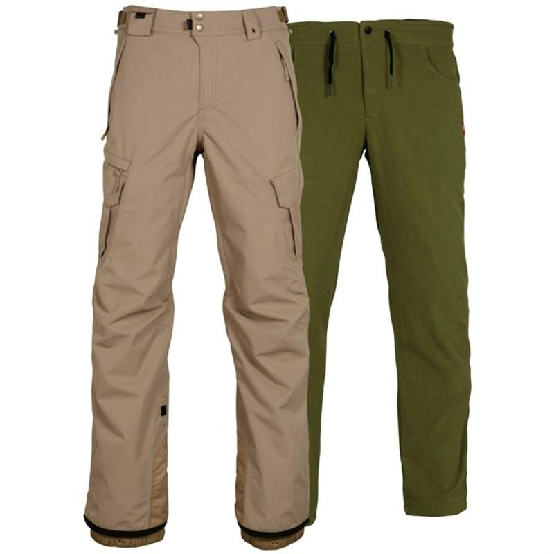 シックスエイトシックス メンズ カジュアルパンツ ボトムス 686 SMARTY 3-in-1 Cargo Pants Khaki