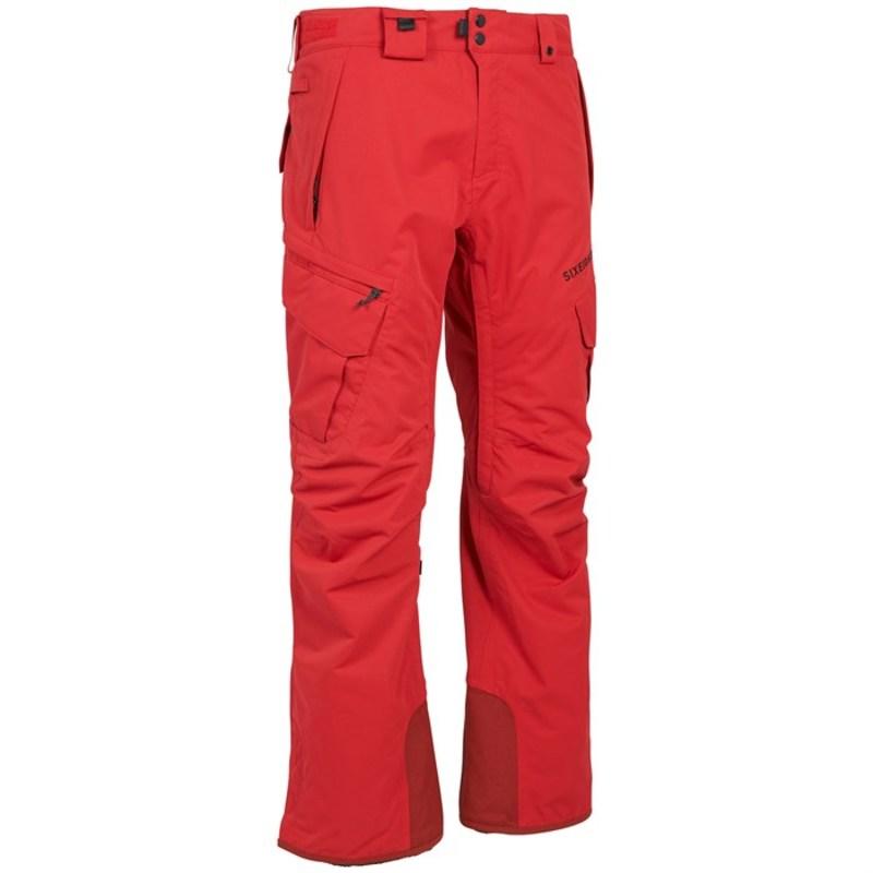 シックスエイトシックス メンズ カジュアルパンツ ボトムス 686 SMARTY 3-in-1 Cargo Pants Red