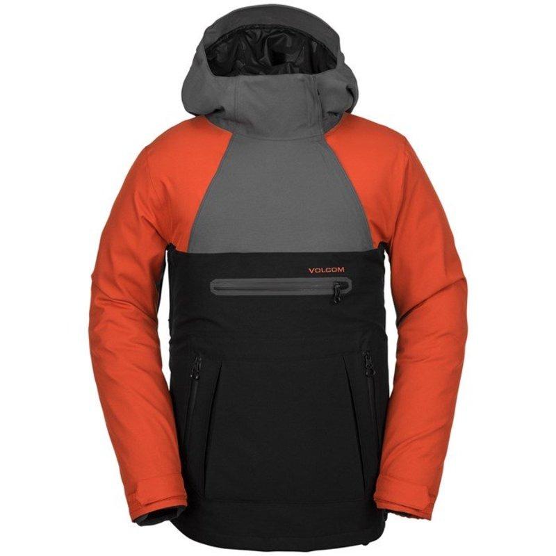 ボルコム メンズ ジャケット・ブルゾン アウター Volcom Brighton Pullover Jacket Burnt Orange