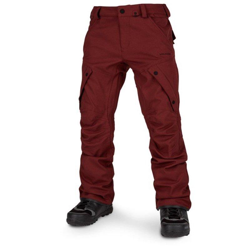 ボルコム メンズ カジュアルパンツ ボトムス Volcom Articulated Pants Burnt Red
