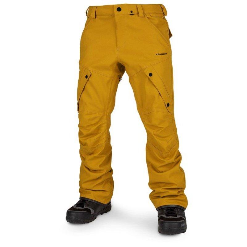 ボルコム メンズ カジュアルパンツ ボトムス Volcom Articulated Pants Resin Gold