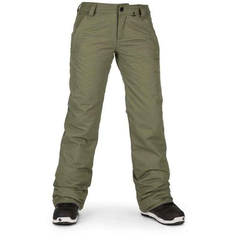 ボルコム レディース カジュアルパンツ ボトムス Volcom Frochickie Insulated Pants - Women's Military