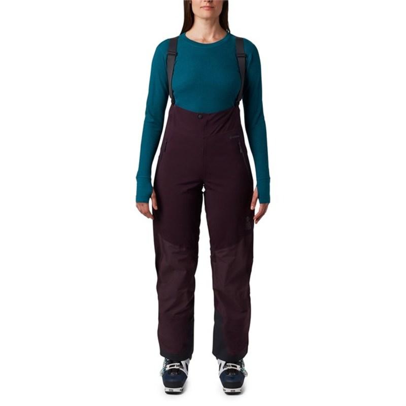 マウンテンハードウェア レディース カジュアルパンツ ボトムス Mountain Hardwear High Exposure GORE-TEX C-Knit Bibs - Women's Darkest Dawn