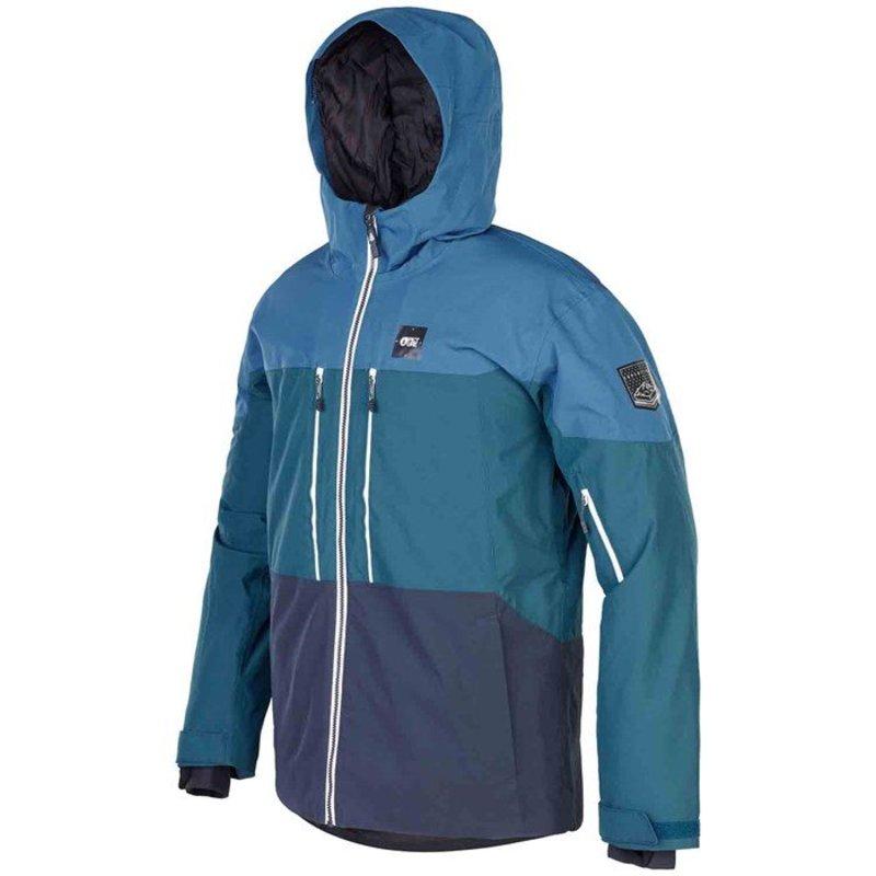 ピクチャー オーガニック メンズ ジャケット・ブルゾン アウター Picture Organic Object Jacket Blue