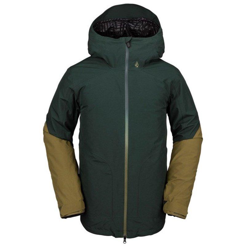 ボルコム メンズ ジャケット・ブルゾン アウター Volcom Resin GORE-TEX Jacket Dark Green