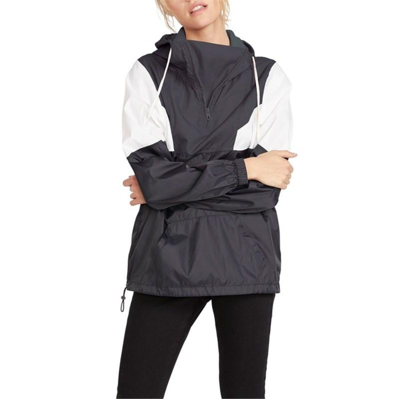 ボルコム レディース ジャケット・ブルゾン アウター Volcom Wind Stoned Jacket - Women's Black White
