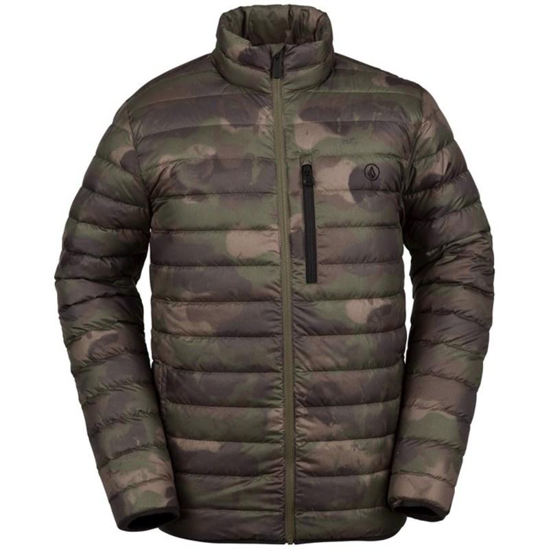 ボルコム メンズ ジャケット・ブルゾン アウター Volcom Puff Puff Give Jacket Camouflage
