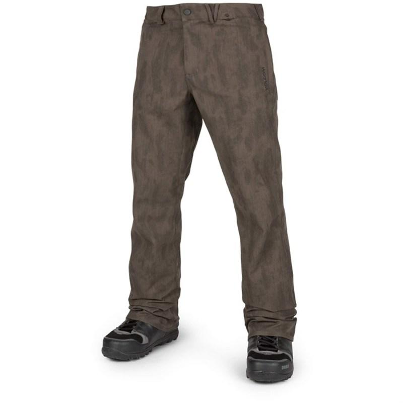 ボルコム メンズ カジュアルパンツ ボトムス Volcom Solver Snow Pants Black Combo