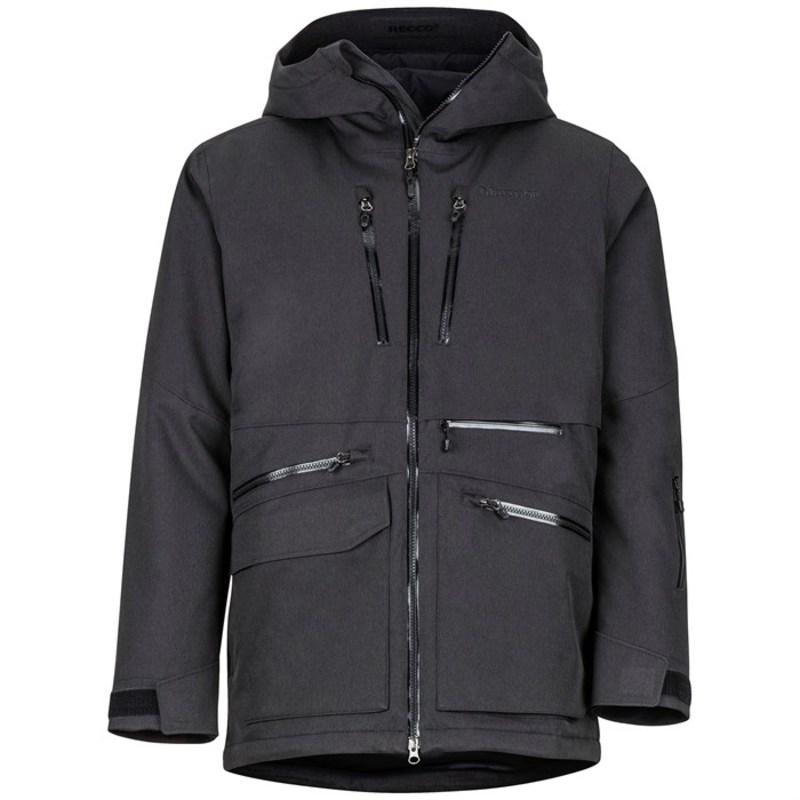 マーモット メンズ ジャケット・ブルゾン アウター Marmot Schussing Featherless Jacket Black