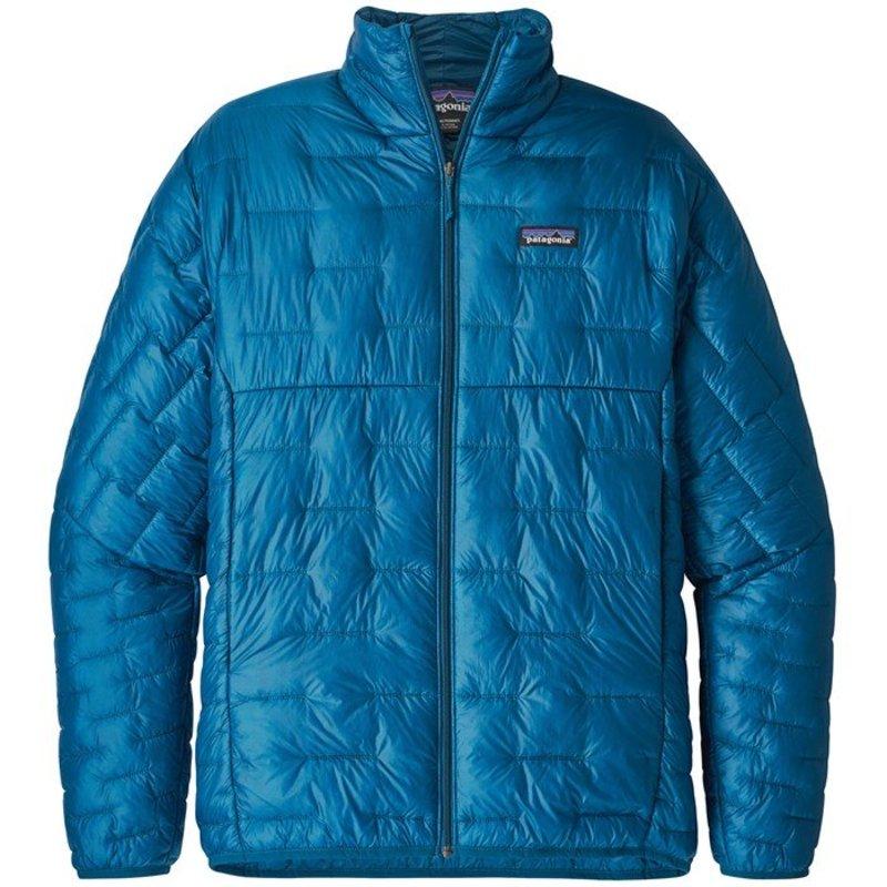 パタゴニア メンズ ジャケット・ブルゾン アウター Patagonia Micro Puff? Jacket Balkan Blue
