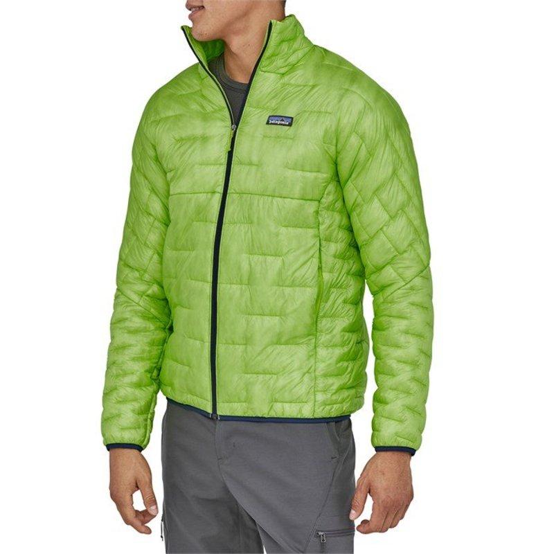 パタゴニア メンズ ジャケット・ブルゾン アウター Patagonia Micro Puff? Jacket Peppergrass Green