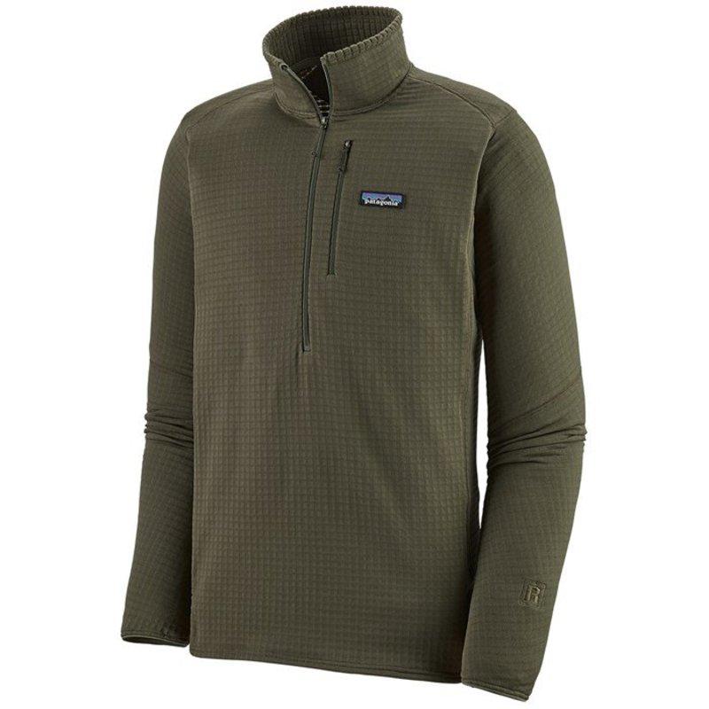 パタゴニア メンズ ジャケット・ブルゾン アウター Patagonia R1 Pullover Industrial Green