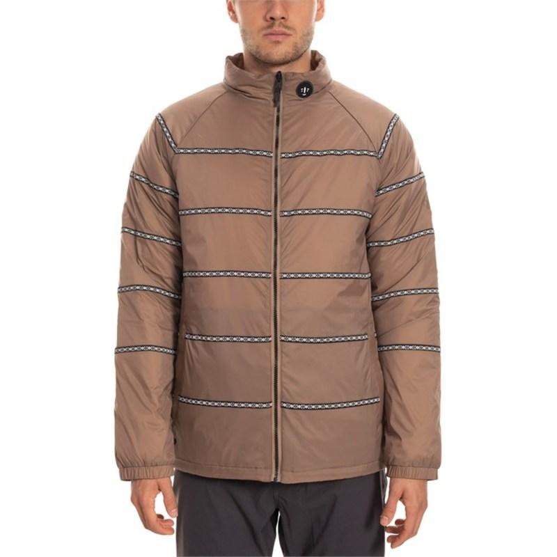 シックスエイトシックス メンズ ジャケット・ブルゾン アウター 686 Whipper Snapper Primaloft Jacket Khaki