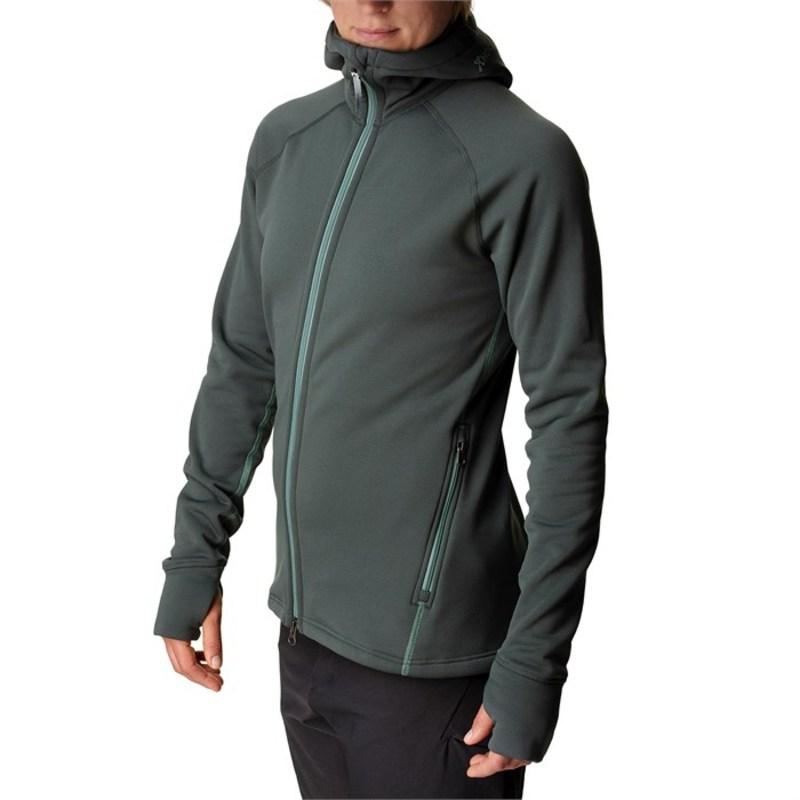 フーディニ レディース ジャケット・ブルゾン アウター Houdini Power Houdi Fleece Jacket - Women's Deeper Green