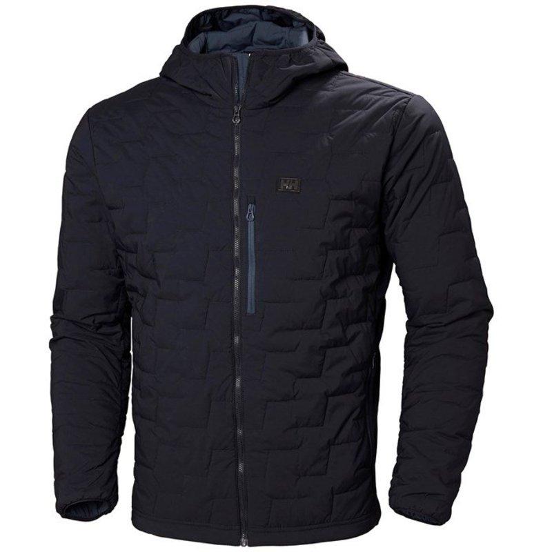 ヘリーハンセン メンズ ジャケット・ブルゾン アウター Helly Hansen LifaLoft? Hooded Stretch Insulator Jacket Navy