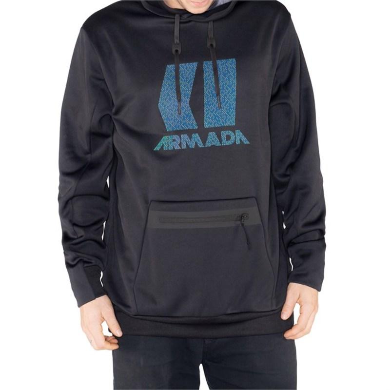 アルマダ メンズ ジャケット・ブルゾン アウター Armada Vortex Tech Fleece Black