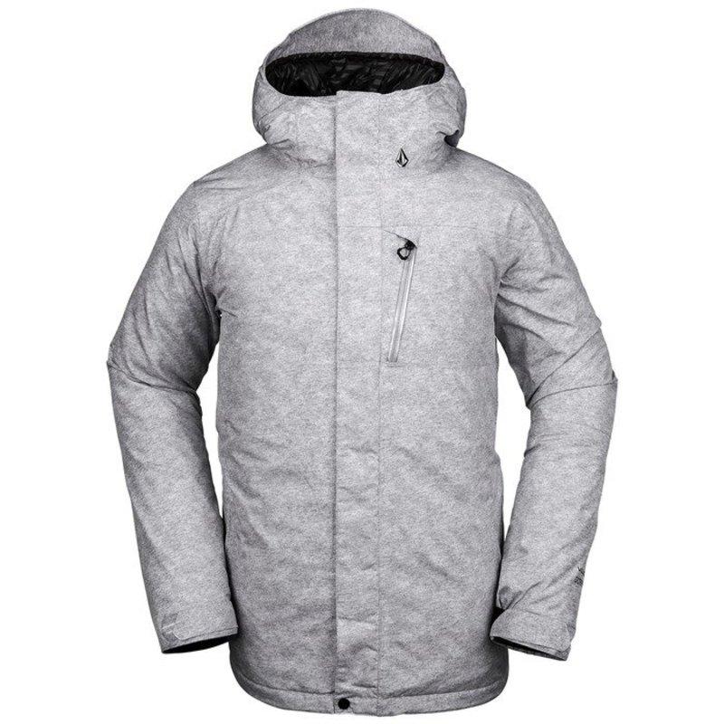 ボルコム メンズ ジャケット・ブルゾン アウター Volcom L Insulated GORE-TEX Jacket Heather Grey