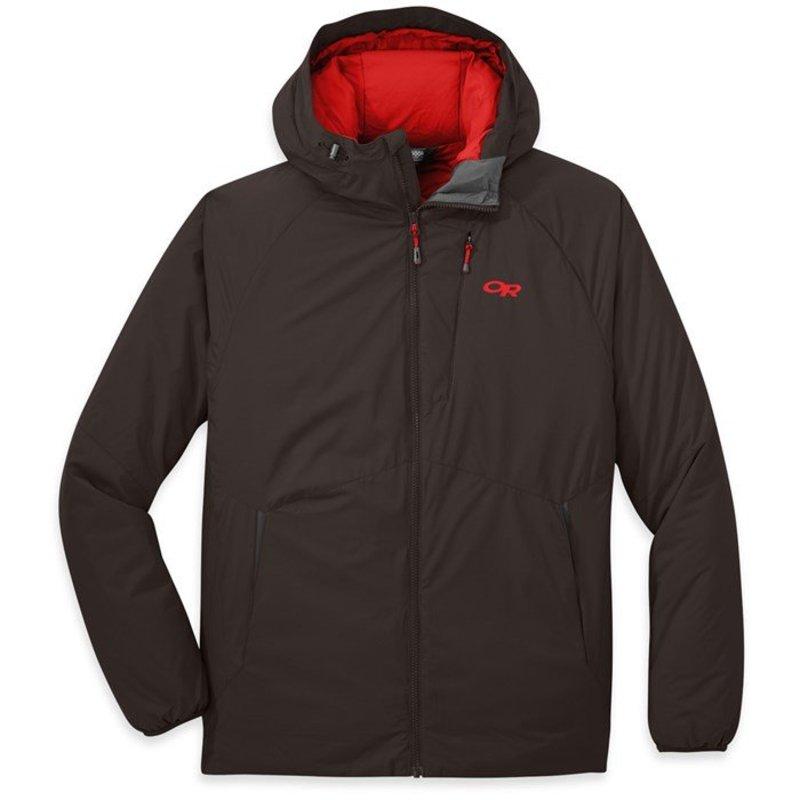 アウトドアリサーチ メンズ ジャケット・ブルゾン アウター Outdoor Research Refuge Hooded Jacket Dark Roast