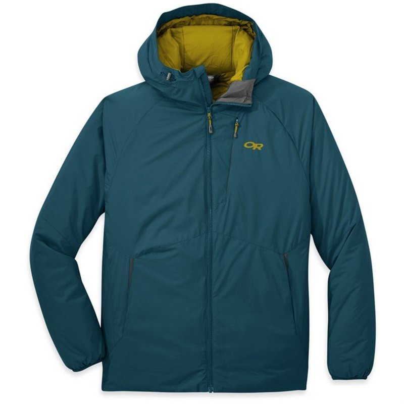 アウトドアリサーチ メンズ ジャケット・ブルゾン アウター Outdoor Research Refuge Hooded Jacket Prussian Blue