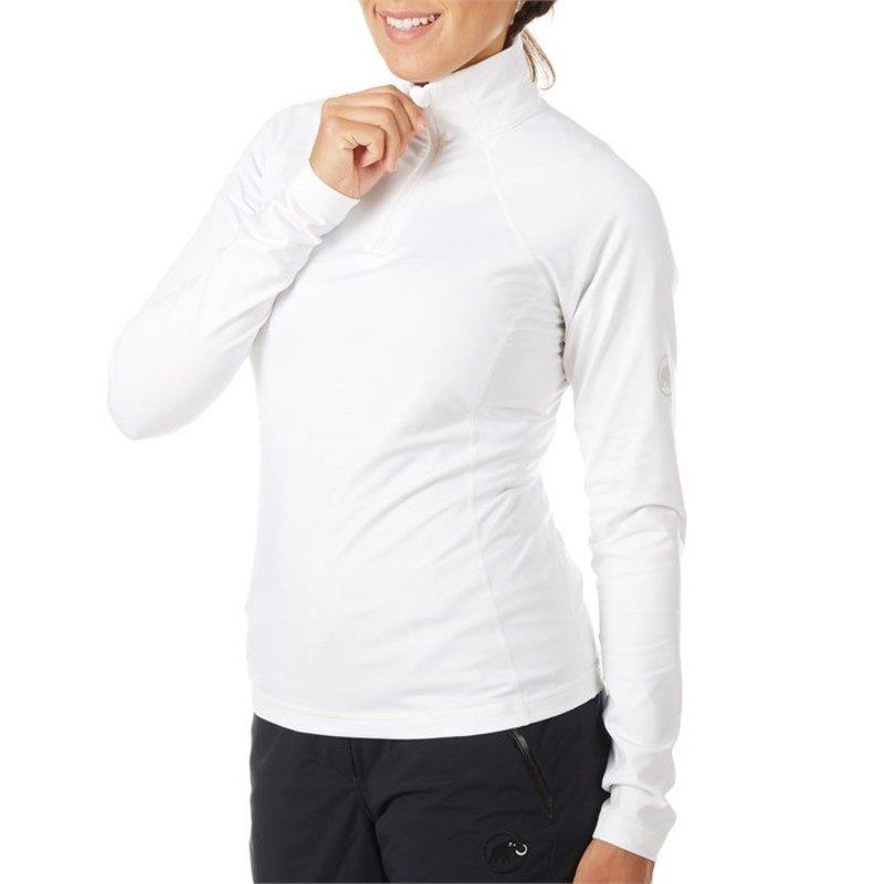 マムート レディース ジャケット・ブルゾン アウター Mammut Snow ML Half Zip Pullover - Women's White