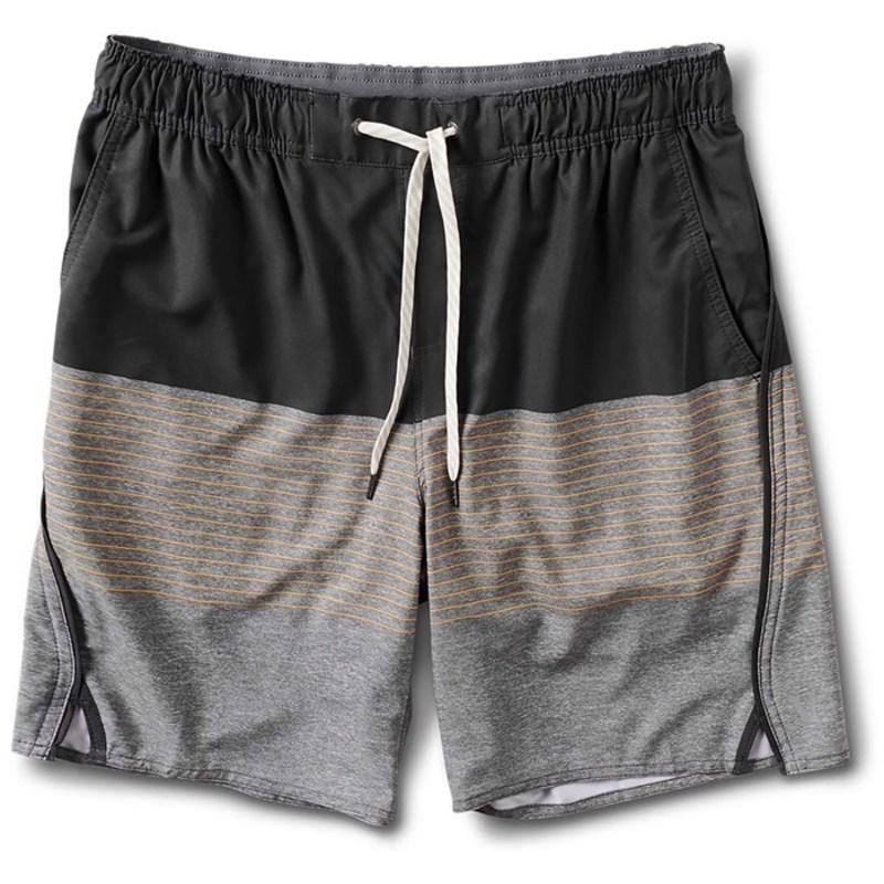 ビュオーリ メンズ カジュアルパンツ ボトムス Vuori Trail Shorts Fig Stripe
