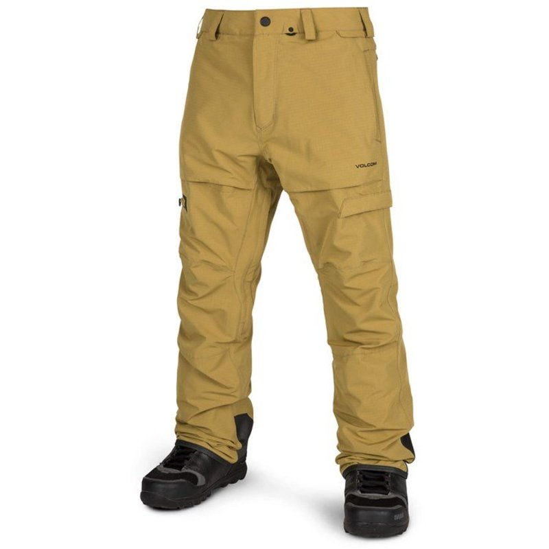 ボルコム メンズ カジュアルパンツ ボトムス Volcom GI Pants Resin Gold