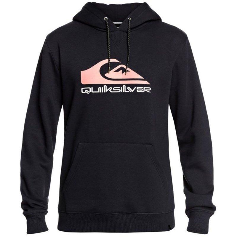 クイックシルバー メンズ ジャケット・ブルゾン アウター Quiksilver Big Logo Snow Anniversary Hoodie Black Anniversary