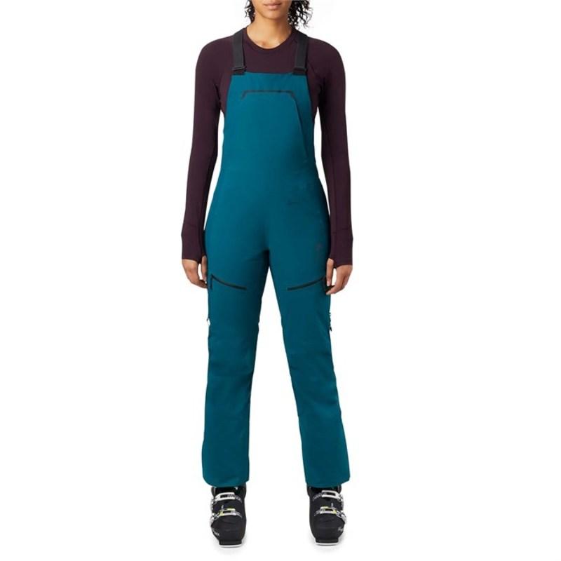 マウンテンハードウェア レディース カジュアルパンツ ボトムス Mountain Hardwear Boundary Line GORE-TEX Insulated Bibs - Women's Dive