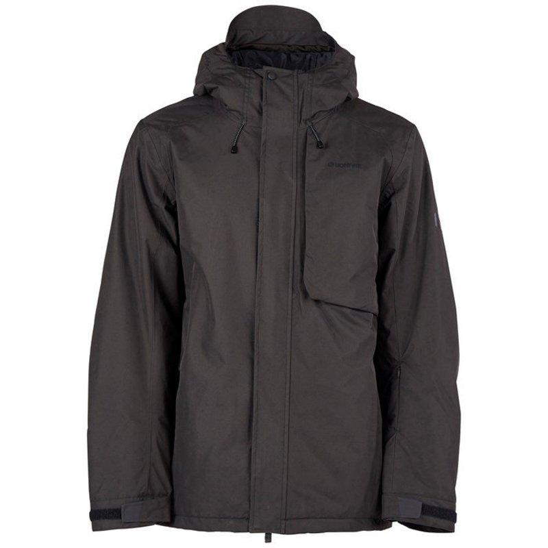 ボンファイヤー メンズ ジャケット・ブルゾン アウター Bonfire Strata Insulated Jacket Black