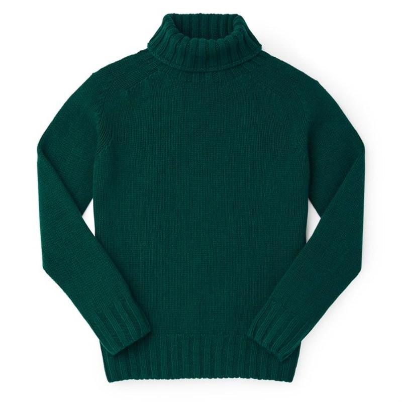 フィルソン レディース ニット・セーター アウター Filson Lambswool Turtleneck Sweater - Women's Emerald