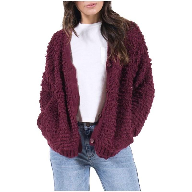 リラ レディース ニット・セーター アウター Lira Amari Sweater - Women's Wine