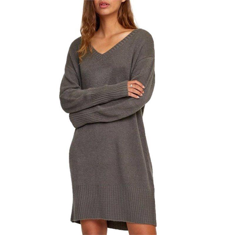 ルーカ レディース ワンピース トップス RVCA Quartz Dress - Women's Charcoal